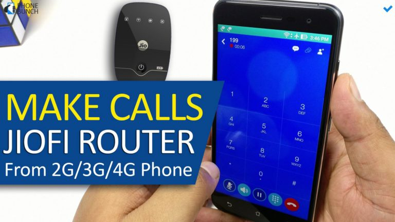 How To Use Jio4GVoice App In 2G/3G Smartphones - Jio4GVoice