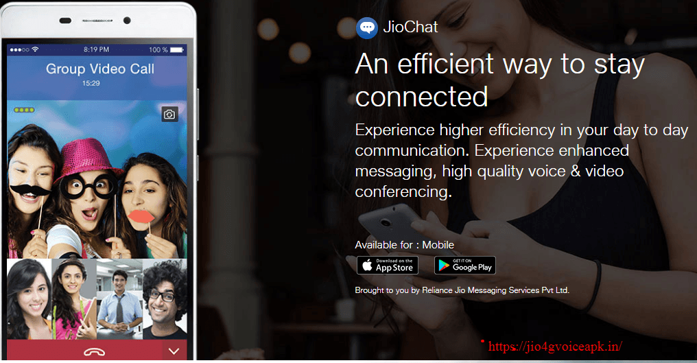 Jio Chat App Download - HD Video Calling & Chatting App
