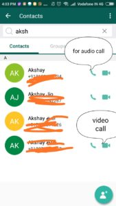 jio chat audio and video call