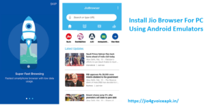 jio browser for pc