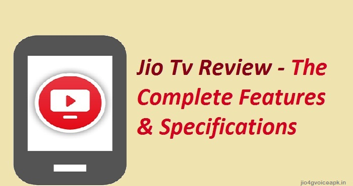 jio tv app review